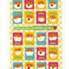 Sun Star Japan Hamu Hamu Hamuchu Hamster Sticker Sheet (C) Kawaii