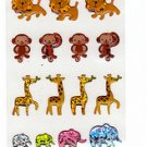 Ark Road Japan Wild Animals Sticker Sheet Kawaii
