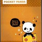 Daiso Japan Pocket Panda Memo Pad Kawaii
