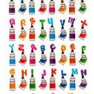 Q-Lia Japan Paint Tubes Gumi Sticker Sheet Kawaii