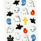 San-X Japan Happy Ghosts Sticker Sheet 1997 Kawaii