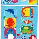 Daiso Japan Sea Animals Food Separate Sheets Kawaii