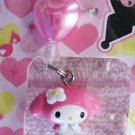 Sanrio Japan My Melody Mascot Cell Phone Strap Kawaii