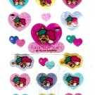 Sanrio Japan Little Twin Stars Sticker Sheet Kawaii