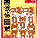 Q-Lia Japan My Little Bear Letter Set with Stickers Kawaii