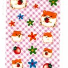 Sun Star Japan Hamu Hamu Hamuchu Hamster Sticker Sheet (E) Kawaii