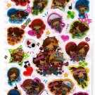 Kamio Japan Mini Mini Party Epoxy Sticker Sheet Kawaii