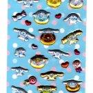 Sanrio Japan Cinnamoroll Sweets Puffy Sticker Sheet Kawaii