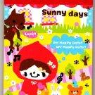 Q-Lia Japan Sunny Days Mini Memo Pad Kawaii