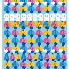 Very Berry Japan Umbrellas Sticker Sheet Kawaii