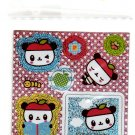 Sanrio Japan Pandapple Variety Sticker Strip Kawaii