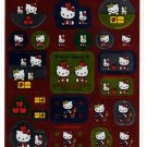Sanrio Japan Hello Kitty Sticker Sheet 2001 Kawaii