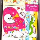 San-X Japan Mamegoma Music Letter Set Kawaii
