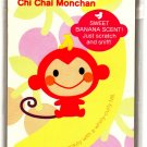 Sanrio Japan Chi Chai Monchan Memo Pad with Stickers Kawaii