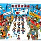 Hallmark Japan Summer Festival 3D Card with Envelope Kawaii