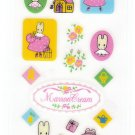 Sanrio Japan Marron Cream Sticker Sheet (A) 1997 Kawaii