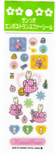 Sanrio Japan Marron Cream Sticker Sheet (B) 1997 Kawaii