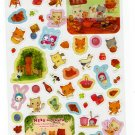 San-X Japan Neko no Panya Sticker Sheet (B) Kawaii