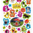 Kamio Japan Happy Sweet Time Sticker Sheet Kawaii