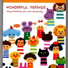 Kamio Japan Wonderful Friends Mini Memo Pad Kawaii