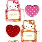Sanrio Japan Hello Kitty Message Seal Sheet (C) Kawaii