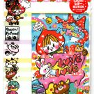 Kamio Japan Sweet My Friend Letter Set with Stickers Kawaii