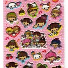 Kamio Japan Happy Magic Baby Puffy Sticker Sheet (A) Kawaii