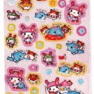 Q-Lia Japan Tropical Kousagi Sticker Sheet Kawaii