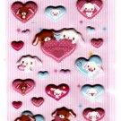 Sanrio Japan Sugarbunnies Puffy Sticker Sheet Kawaii