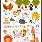Crux Japan Dream of Life Mini Memo Pad Kawaii