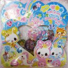 Q-Lia Japan Princess Bunny Jewel Sticker Sack Kawaii
