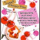 Crux Japan Sweet Memory Time Mini Memo Pad Kawaii