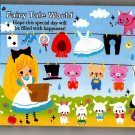 Kamio Japan Fairy Tale World Mini Memo Pad Kawaii