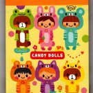 Q-Lia Japan Candy Dolls Mini Memo Pad (B) Kawaii