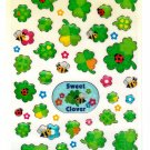 Kamio Japan Sweet Clover Sticker Sheet Kawaii