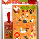 Crux Japan Dream Of Life Letter Set with Stickers Kawaii