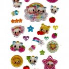 Crux Japan Kira Kira Angel Kittens Sticker Sheet Kawaii