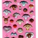 Sanrio Japan Sugarbunnies Puffy Glitter Sticker Sheet (B) Kawaii