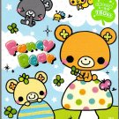 Crux Japan Fancy Bear Memo Pad with Stickers Kawaii