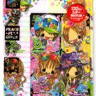 Kamio Japan Peaceful Girls Letter Set with Stickers Kawaii