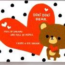 Crux Japan Doki Doki Bear Mini Memo Pad (B) Kawaii