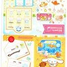 Sanrio Japan Cinnamoroll Jumbo Sticker Seal Sheet by Bandai (A) 2004 Kawaii