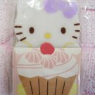 Sanrio Japan Hello Kitty Cupcake Diecut Eraser (C) Kawaii
