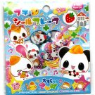 Kamio Japan Panda and Friends Sticker Sack (A) Kawaii