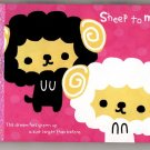 Crux Japan Sheep To Move Mini Memo Pad Kawaii