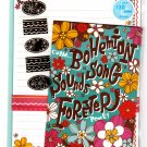Mind Wave Japan Bohemian Song Letter Set with Stickers Kawaii