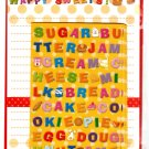 Mind Wave Japan Happy Sweets Letter Set Kawaii