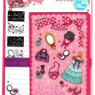 Mind Wave Japan Girl's Collection Letter Set with Stickers Kawaii