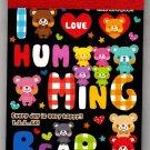 Q-Lia Japan I Love Humming Bear Mini Memo Pad Kawaii