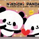 Crux Japan Nikoichi Panda Mini Memo Pad Kawaii